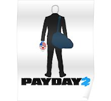Payday 2-Dallas-Black Poster