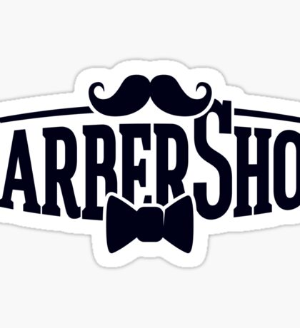 BarberShop Sticker