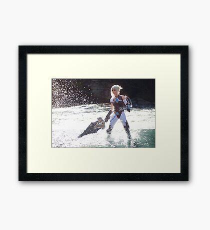 Riven Framed Print