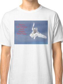 Christmas Snowy Owl Classic T-Shirt