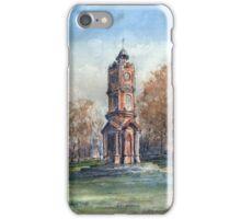 Clock Tower, Preston Park. by Edward Scale iPhone Case/Skin