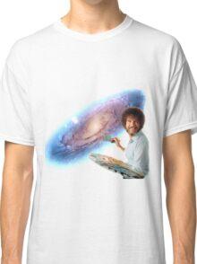 The Bob Ross Galaxy Classic T-Shirt