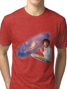 The Bob Ross Galaxy Tri-blend T-Shirt
