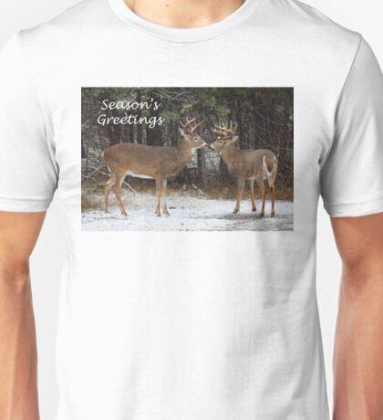 Season's Greetings deer T-Shirt