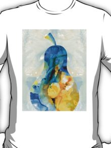 A Nice Pear - Abstract Art By Sharon Cummings T-Shirt