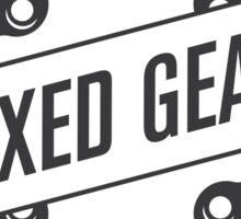 Fixed Gear Sticker