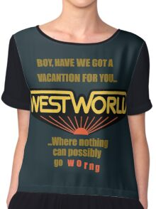 Westworld Vacantion T-Shirt Chiffon Top