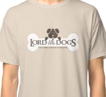 Dogs Furrlowship of the Ring  Classic T-Shirt