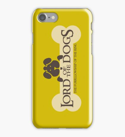 Dogs Furrlowship of the Ring  iPhone Case/Skin