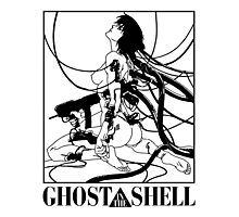 Ghost In The Shell - Gits Photographic Print