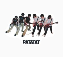 Ratatat - Self Titled Design by ThNTWRNG