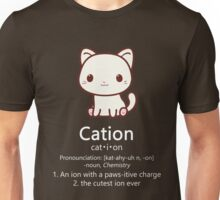 Cute Science Cat T-Shirt Kawaii Cation Chemistry Pawsitive Unisex T-Shirt