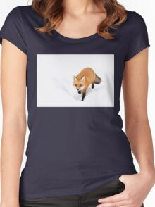 Red Fox - Algonquin Park Women's Fitted Scoop T-Shirt