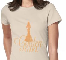 Golden Girl Womens Fitted T-Shirt