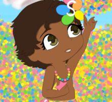 Skittles Moana Sticker