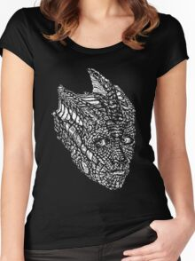 Madame Vastra (whiteline) Women's Fitted Scoop T-Shirt