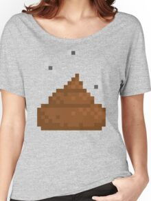 Pixel poo Women's Relaxed Fit T-Shirt