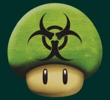 Biohazard Mario's mushroom by Laflagan
