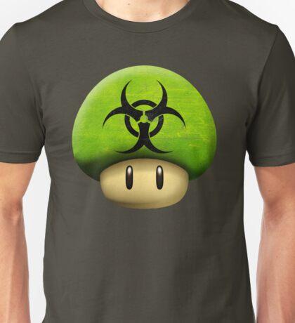 Biohazard Mario's mushroom Unisex T-Shirt
