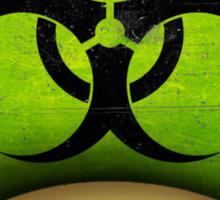 Biohazard Mario's mushroom Sticker