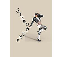 Steampunk Woman Photographic Print