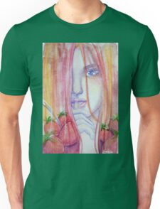 Tasty Strawberries Unisex T-Shirt