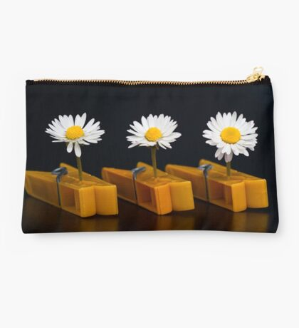 Pinched Daisies Studio Pouch