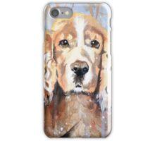Cocker Spaniel in meadow iPhone Case/Skin