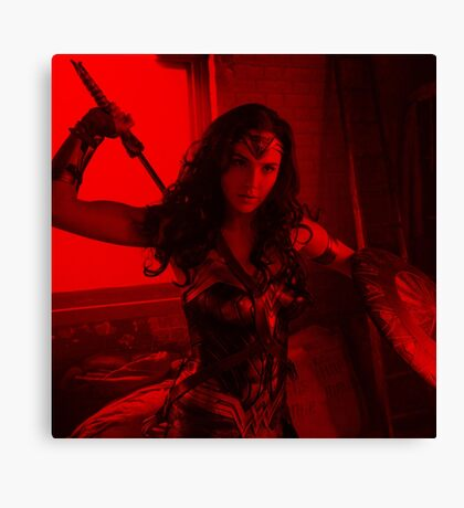 Gal Gadot - Celebrity (Square) Canvas Print