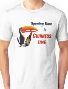 Guinness Time Vintage Logo Unisex T-Shirt