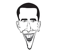 Barrack Obama on your T-Shirt or Hoodie! by equilibria