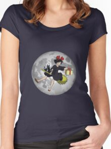 Kiki - Kiki's Delivery Service, (1989) Women's Fitted Scoop T-Shirt