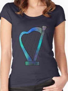 Harp  Women's Fitted Scoop T-Shirt