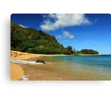 The Rock At Tunnels Beach Canvas Print