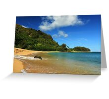 The Rock At Tunnels Beach Greeting Card