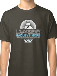 Hadleys Hope - Atmosphere Processing Plant - Aliens Classic T-Shirt