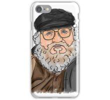 George R R Martin iPhone Case/Skin