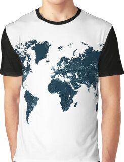 Communications network map  Graphic T-Shirt