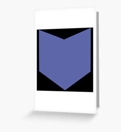 Hawkeye Shirt Greeting Card