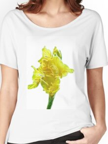 yellow gladiolus Women's Relaxed Fit T-Shirt