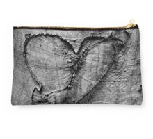 Carved Heart Studio Pouch