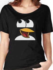 Awesome Linux Penguin Women's Relaxed Fit T-Shirt