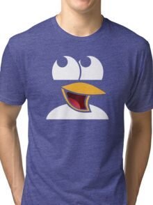 Awesome Linux Penguin Tri-blend T-Shirt