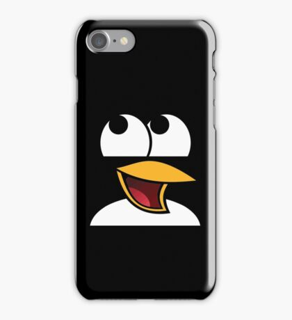 Awesome Linux Penguin iPhone Case/Skin
