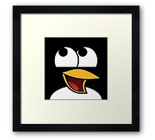 Awesome Linux Penguin Framed Print