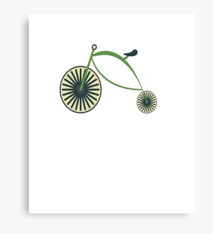 Funny Cycologist Cycling Cycle Canvas Print