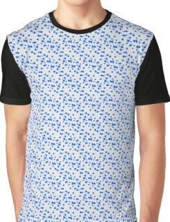 Blot abstract color shape pattern Graphic T-Shirt