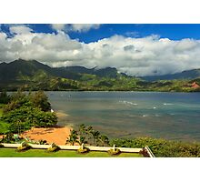 Hanalei Bay Photographic Print