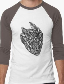 Madame Vastra (blackline) Men's Baseball ¾ T-Shirt