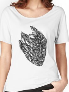 Madame Vastra (blackline) Women's Relaxed Fit T-Shirt